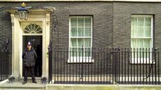 Visit Britain Prime Minister's Office, 10 Downing Street London .... ♥♥ .... #officesecuritygate