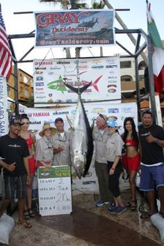 TEAM AMZ, won aboard the C-Rod with a 210 pounder caught the first day of the Los Cabos Tuna Jackpot, November 4-6 2015. PHOTO BY GARY GRAHAM
