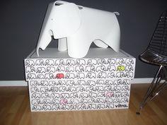 @vitra #Eames Elephant   by Veganka