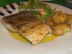 Cinco sentidos na cozinha: 45 sugestões de receitas da Cozinha portuguesa