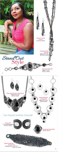 Stand out with great styles from #AzuliSkye #jewelry Shop now at http://www.azuliskye.com/chinglo