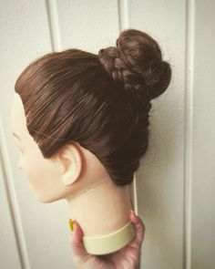 Another updo. Simple one this time. Narvik, Confirmation, Updos, Annie, Simple, Hair, Instagram, Up Dos, Up Hairstyles