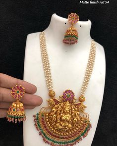 finish collections V To place order watsap us on 8179399644 Beaded Jewelry, Gold Jewelry, Ruby Jewelry, India Jewelry, Crystal Jewelry, Pendant Jewelry, Ruby Necklace Designs, Gold Jewellery Design, Designer Jewellery