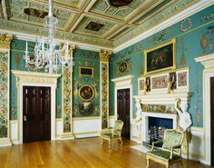 Painted room at Spencer House