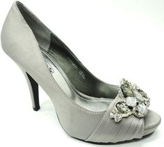 Silver shoes for my bridesmaid dress? Pretty!