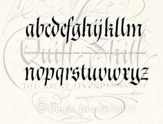 fraktur calligraphy - Google Search