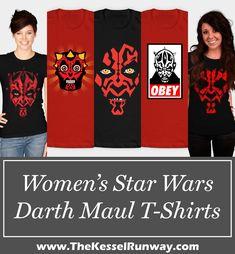 fb3b8e504c Leia s List - Women s Darth Maul T-Shirts. Star Wars ...