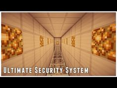 "READ THIS: I show you my self-made secrurity system. I made it for a ""capture the flag""-Game! Minecraft Crafts, Minecraft 1, Speed Up Computer, Flag Game, Amazing Minecraft, Thing 1, Security Cameras For Home, Survival, Redstone"