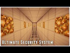 Ultimate Security System Minecraft