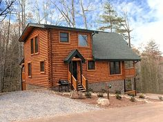 $189 per night - $1189.51 Total (6 night) all taxes and fees incl. - Cabin Chalet Rentals Gatlinburg TN - Mountain Dreams at Hemlock Hills