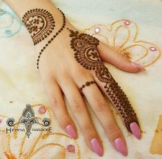 Mehndi designs are applied on hands and feet at imperative weddings and other occasions. Today, Mehndi is exceptionally prevalent in Eastern nations. Henna Hand Designs, Mehndi Designs Finger, Mehndi Designs For Girls, Mehndi Designs For Fingers, Mehndi Art Designs, Mehndi Patterns, Latest Mehndi Designs, Simple Mehndi Designs, Henna Tattoo Designs