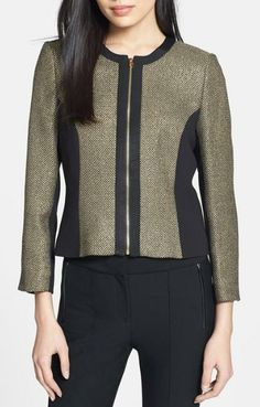 Beautiful, Crop Jacket from Ted Baker.