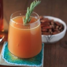 Rosemary, Apple Cider, Bourbon.