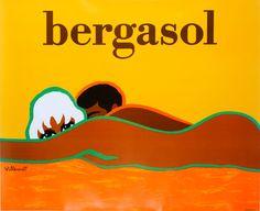 Bergasol (sun lotion) Villemot 1973