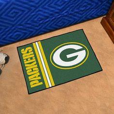 NFL Fan Mats Starter Mat - Green Bay Packers