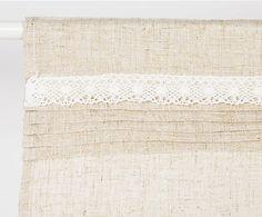Cortina de lino y algodón Venecia - 60x150 cm