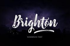 Script Fonts - Brighton Script (Off 40%)