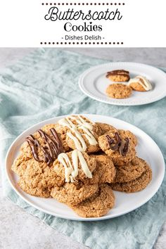 Do yourself a favor and make this butterscotch cookies recipe. Not only does the butterscotch flavor burst in your mouth, but the cookies are soft, chewy and delicious. Add these to your holiday cookie tray and you are going to have very happy guests. #cookies #butterscotschcookies #butterscotch #dishesdelish @dishesdelish | dishesdelish.com Butterscotch Cookies Recipes, Cocoa Cookies, Butterscotch Pudding, Cookie Recipes, Chocolate Cream Cheese, Cream Cheese Cookies, Vanilla Recipes, Cookie Calories, Cookie Tray