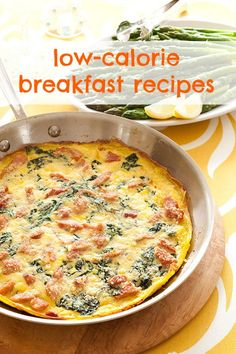 Low-calorie breakfast recipes!