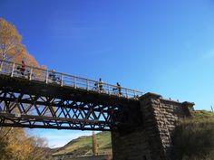 Historic bridge at crossing the Cap Burn