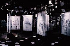 ReframingBack/ImperativeConfrontations: Inside Egypt's Pavilion at the 2016 Venice Biennale,© Michela di Savino, Morgane Quere Museum Exhibition Design, Exhibition Display, Design Museum, Exhibition Stands, Interactive Installation, Installation Art, Display Design, Stand Design, Booth Design