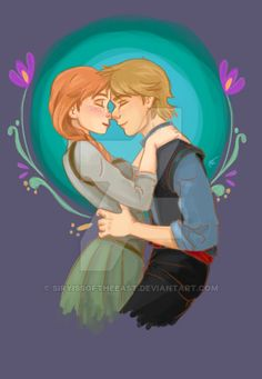 Anna and Kristoff are one of the cutest Disney couples ever, and no one will convince me otherwise. Disney Couples, Disney Girls, Disney Love, Disney Stuff, Frozen Elsa And Anna, Disney Frozen, Disney Pixar, Frozen Movie, Cute Disney Pictures
