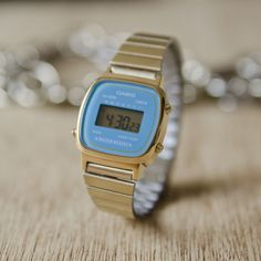 b02ad3ddfe1b Casio Mini Digital Watch in Turquoise