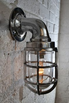 Kitchen wall light.  £65. Industrial Wall Light - 030 by Artifact Lighting