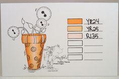 Heather's Hobbie Haven: Color Combo - ShinHan Markers...