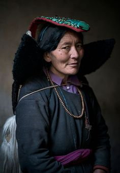 Ladakh woman from India.