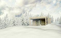 Sauna House M on Behance