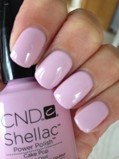 Shellac cake pop- amazing colour for summer