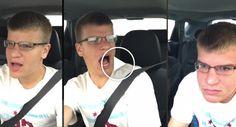 Jovem Sofre Acidente De Carro Enquanto Canta Ao Volante
