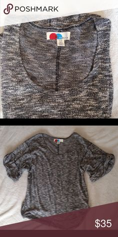 ✨Free People Knit Slouchy Tee✨ Sure soft gorgeous slouchy tee. Excellent used condition. Size Large FPBeach Free People Tops Tees - Short Sleeve