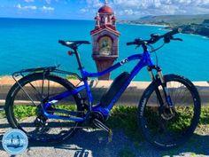 Elektrisch fietsen op Kreta Griekenland Elektrische fiets giant en yamaha