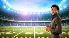 New party member! Tags: football catch touchdown superbowl trey songz