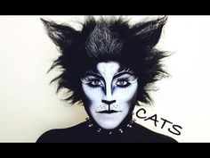 Cats Broadway Musical Makeup Tutorial Nyx Face Awards - Nyx Cosmetics Face Awards Challenge Broadway Musical Cats We Made It To Top Live Competition Will Be In L A On August Nd Cat Face Makeup, Black Cat Makeup, Fx Makeup, Makeup Ideas, Makeup Jokes, Black Cat Face Paint, Nyx Cosmetics, Halloween Cat, Halloween Face Makeup