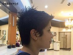 "Visit Dessange Paris- Muscat for ""Short and stylish"" haircut to keep yourself more confident. For more information, call us at +96894018416. #Dessange #Hair #Haircut #Oman #HairStyling #HairMakeOver Professional Hair Salon, Stylish Haircuts, Foot Reflexology, French Hair, Hair And Beauty Salon, Makeup Salon, Muscat, Hairdresser, Beauty Women"