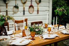 North Country Vintage Tablescape
