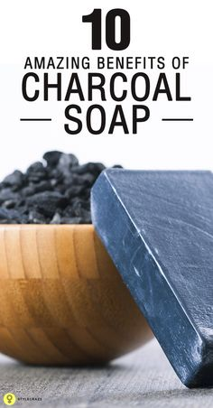 Have you heard about the unusual combination of charcoal and soap?