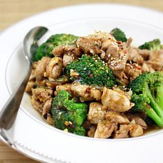 Takeout at Home: Chicken & Broccoli