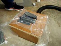 DIY Kydex Vacuum Forming Table - YouTube
