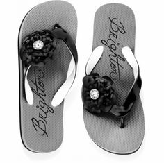 Roses Flip Flop available at #BrightonCollectibles