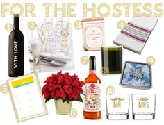 holiday gift guide: for the hostess