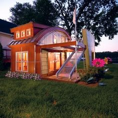 Ultra modern playhouse