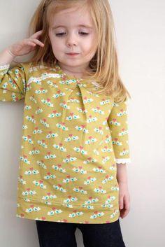 DIY Girls Clothes Refashion: DIY the Lovebird tunic : DIY Clothes : DIY shirt