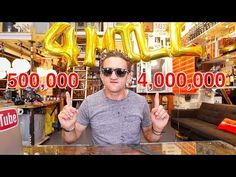 500K to 4 MILLION in 18 MONTHS Casey Neistat, Big Camera, Inspirational Videos, 18 Months, Entrepreneurship, Round Sunglasses, 18th, Round Frame Sunglasses