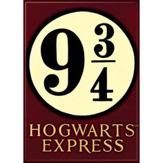 Ata-Boy Harry Potter 9 3/4 Hogwarts Express Magnet ($5.89) ❤ liked on Polyvore featuring home, home decor and office accessories