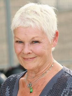 Beautiful Judi Dench ♥ I admire this woman so much, she totally rocks!