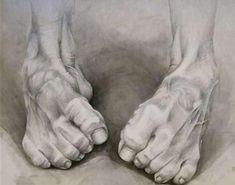 Füße zeichnen Anastasiya Shabunevich (Centennial, CO, USA) - Feet, 2015 Drawings Body Sketches, Drawing Sketches, Pencil Drawings, Art Drawings, Feet Drawing, Life Drawing, Painting & Drawing, Human Anatomy Drawing, Anatomy Art